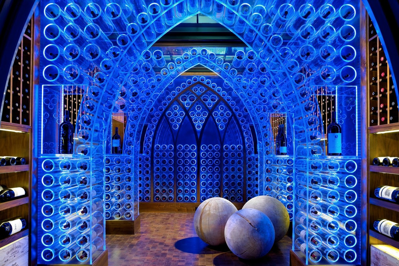 Image result for wall street journal mansion wine cellar