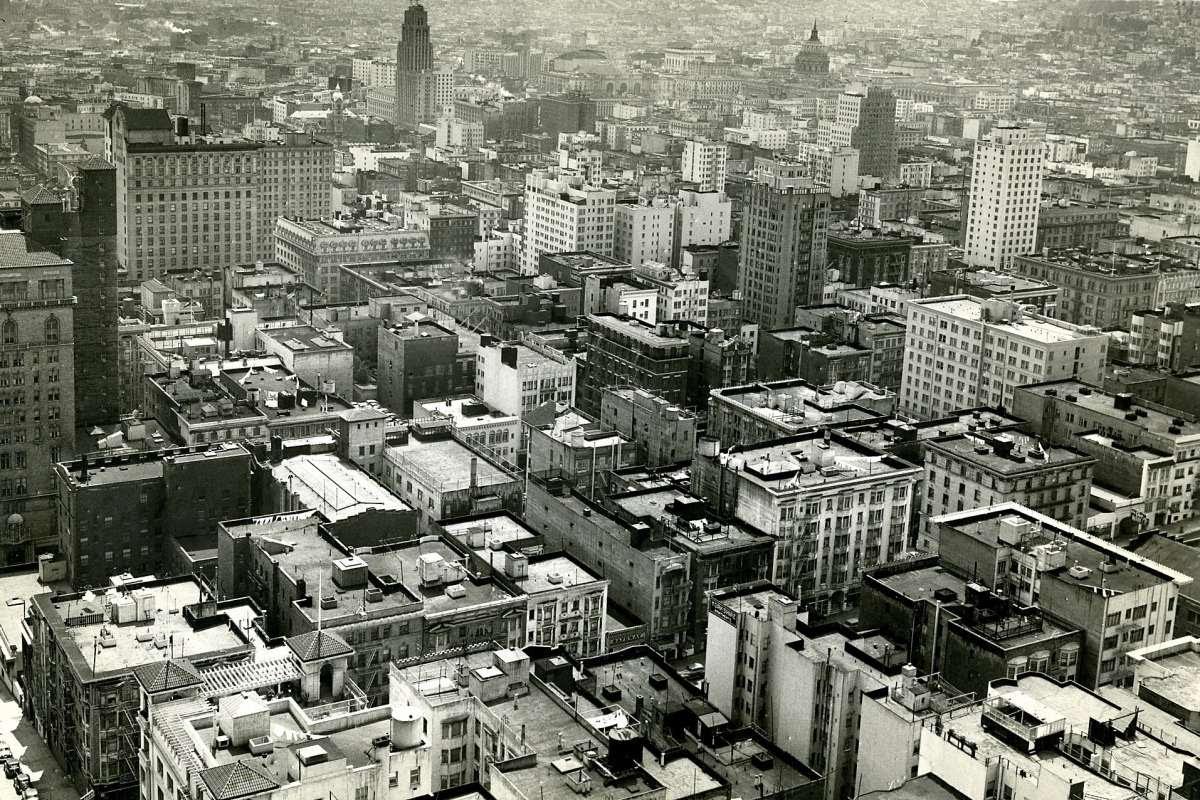 Aerial of SF