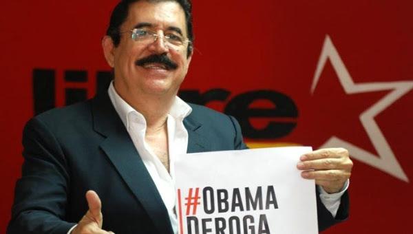 El expresidente de Honduras, Manuel Zelaya.