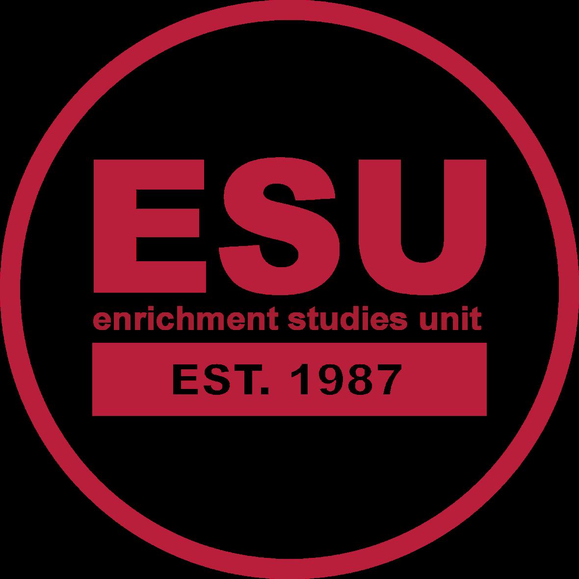 ESU Logo - Red