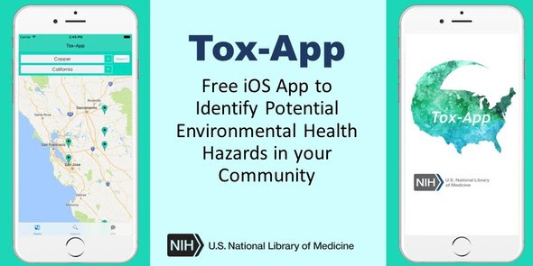 Tox-App: An App to Identify Potential Environmental Health Hazards in your Community