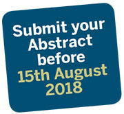 Submit your abstract before 15th August 2018