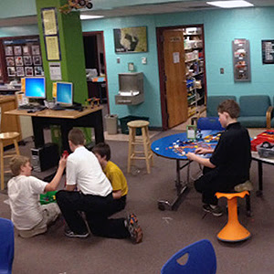 reinvented school                                           libraries unleash student                                           creativity
