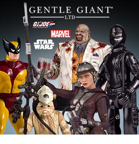 NEW GENTLE GIANT GI JOE, STAR WARS, MARVEL