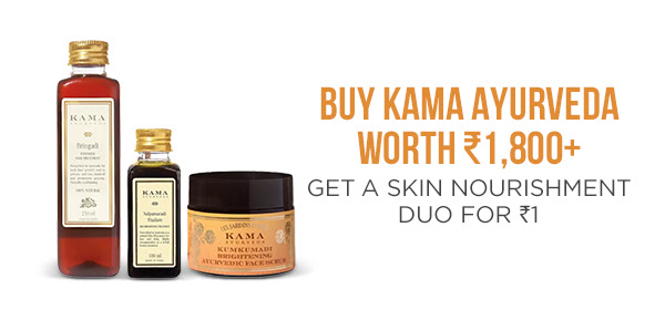 Buy Kama Ayurveda for a wonderful skin