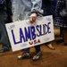 A supporter of Conor Lamb, the Democrat who claimed victory in a special congressional election on Tuesday.