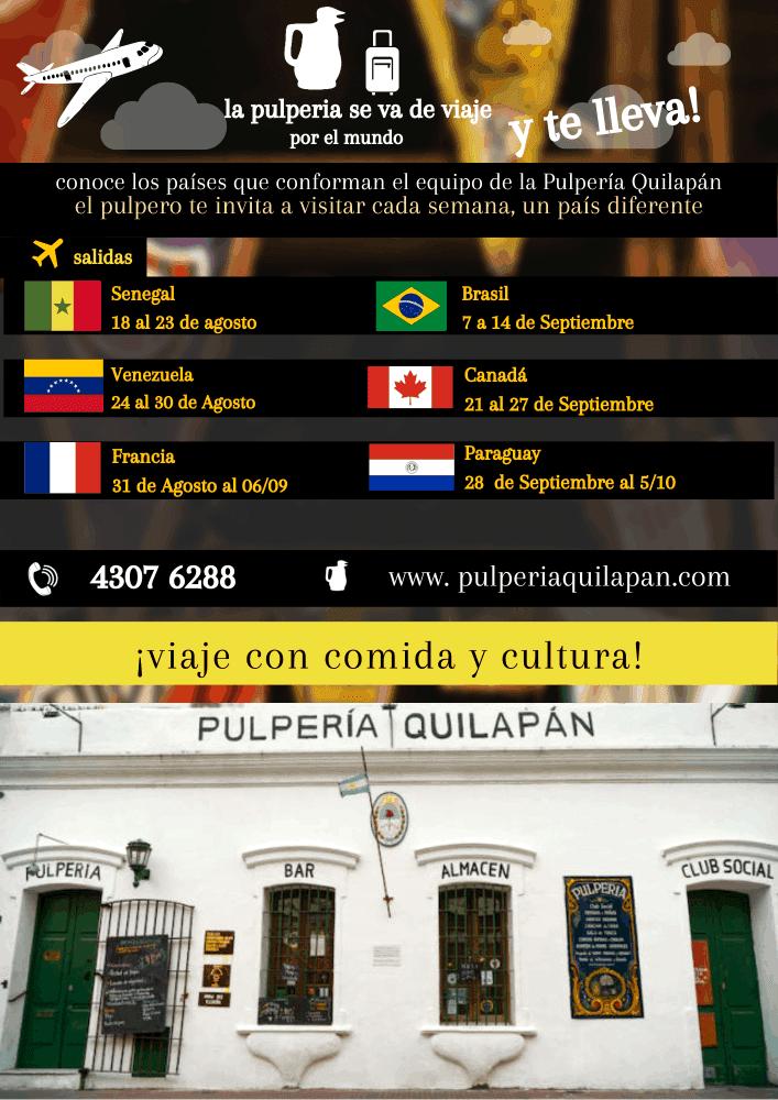 Viaja a Venezuela con la Pulperia