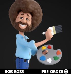 The Joy of Painting Toony Classics Bob Ross