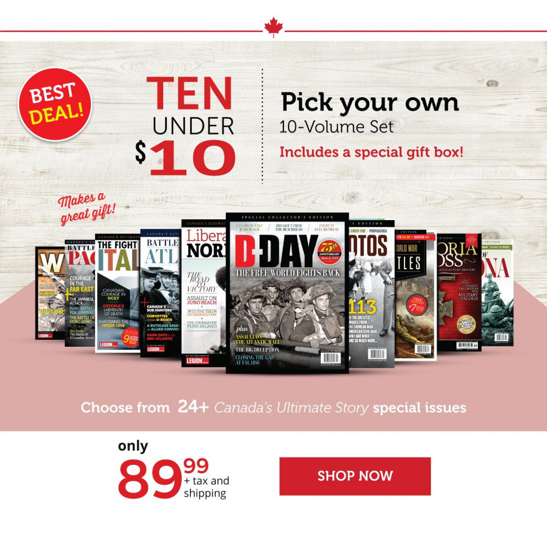 Ten under $10 - Pick your own Volume Set!