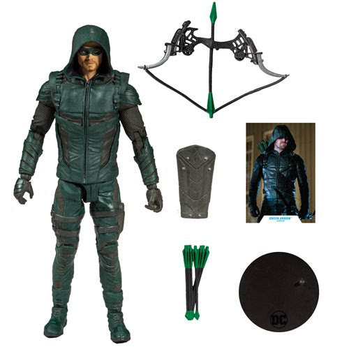 "Image of DC Comics Wave 1 - Green Arrow 7"" Action Figure"