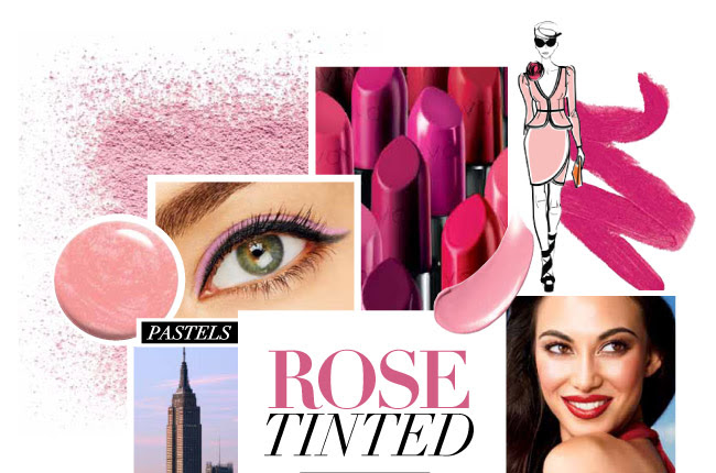 Rose Tinted Makeup