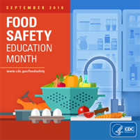 promo image for food safety education month