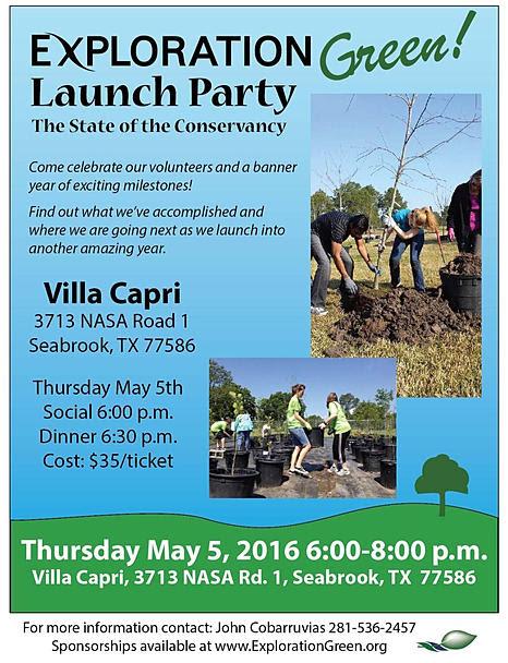 Exploration Green! Launch Party @ Villa Capri | Seabrook | Texas | United States