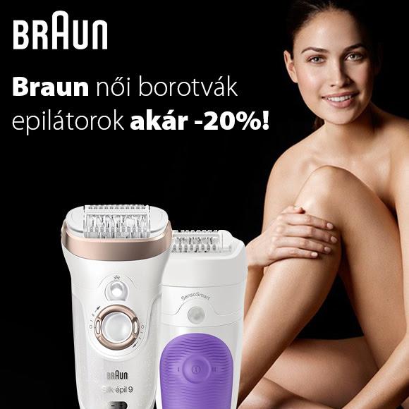 Braun női borotvák