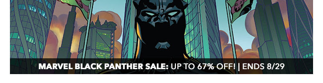 Marvel Black Panther Sale: up to 67% off! | Ends 8/29