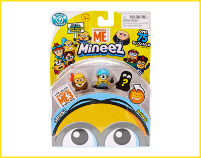 Despicable Me 3 Minion Soft Toy Tim With Sound