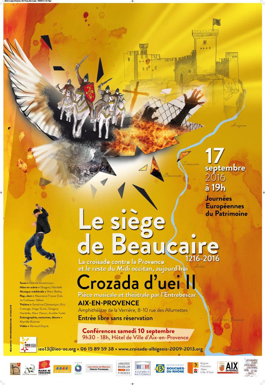 A vos Agendas! Crozada passe le Rhône en septembre! Ensemble à ne pas manquer!