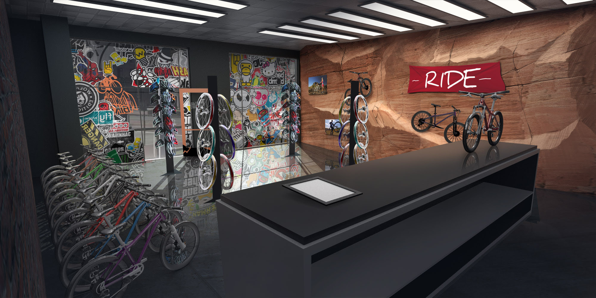 Bicycle store concept