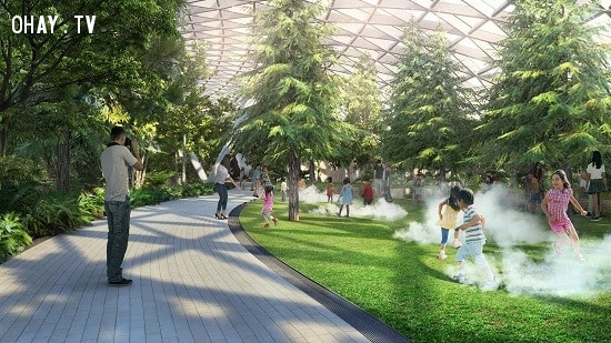 ,sân bay changi,singapore,sân bay,ngôi nhà cao nhất thế giới,kiến trúc