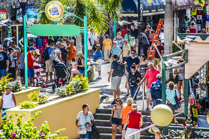 St Kitts Cruise Sector Boom Times Caribbean