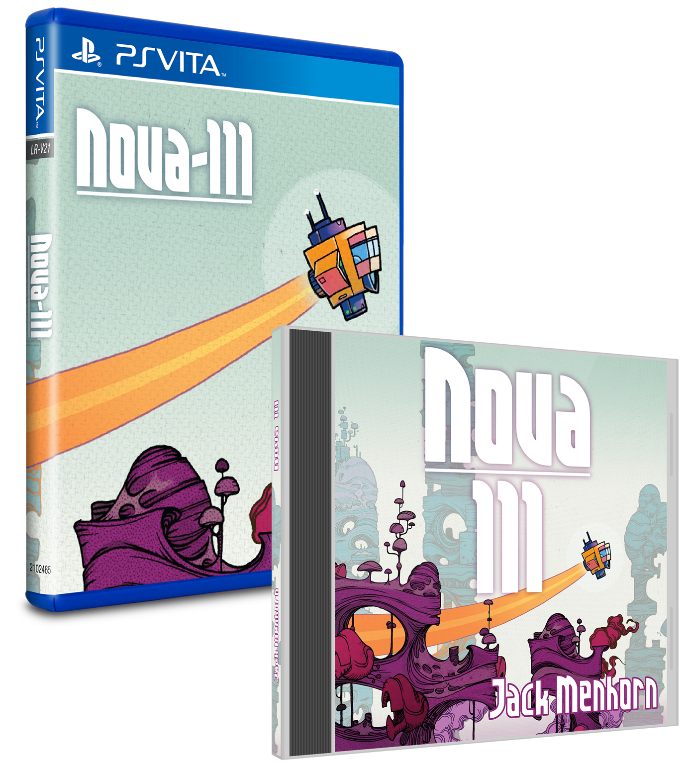 Limited Run #45: Nova-111 Soundtrack Bundle (Vita)