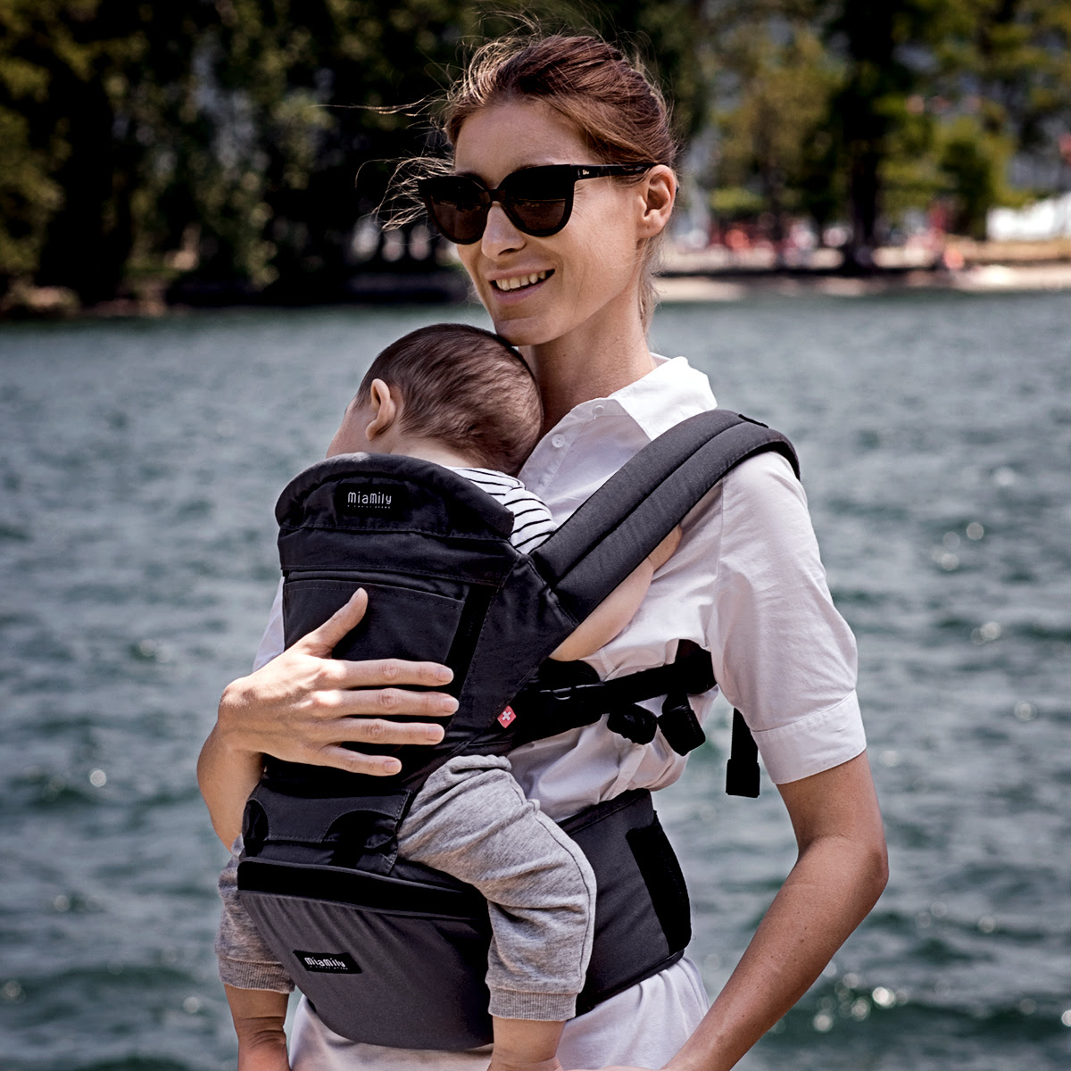 ORGANIC COTTON 3D BABY CARRIER