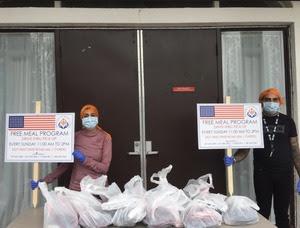 Sikh Food Distribution