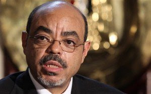 Meles Zenawi former ethiopian prime minister, was also a VIP within the Tutsi Empire plan