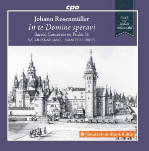 Johann Rosenmüller: In te Domine speravi Product Image
