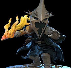 The Lord of the Rings Q-Fig Witch-King of Angmar