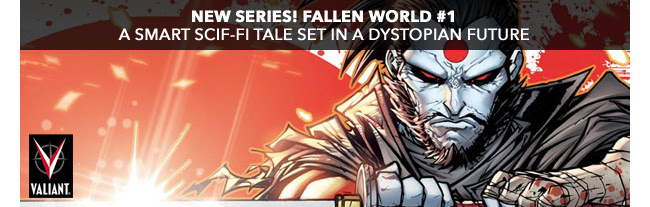 New Series! Fallen World #1. A smart scif-fi story set in a dystopian future.