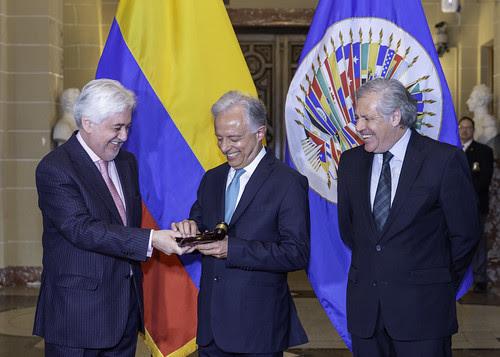 Colombia asumió Presidencia del Consejo Permanente de la OEA