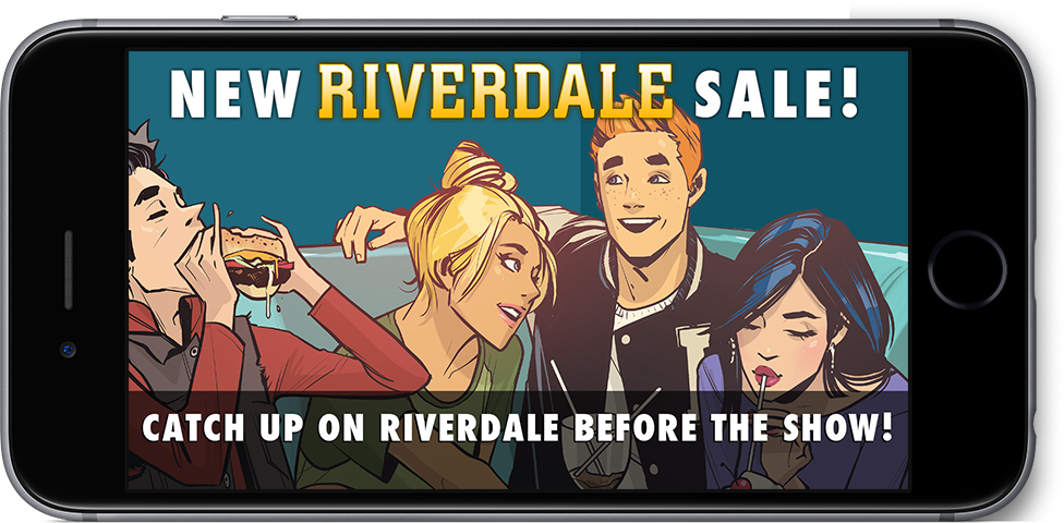 New Riverdale Sale! Catch up on Riverdale before the show!