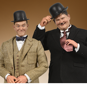 STAN LAUREL & OLIVER HARDY 1/6 SCALE FIGURE TWO-PACK