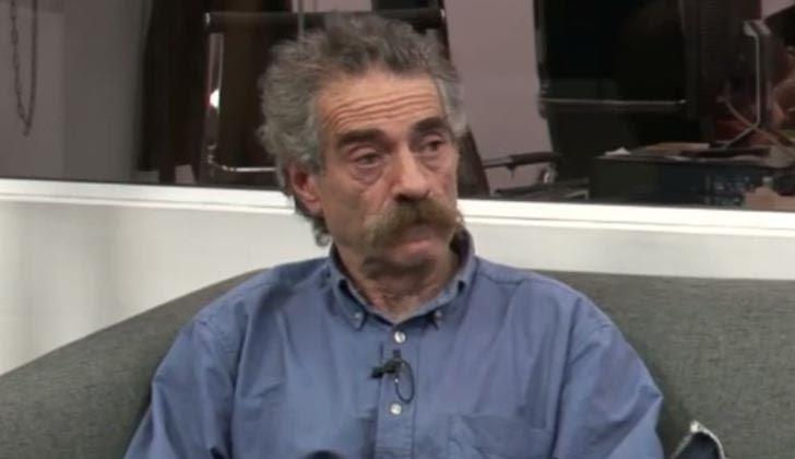 Integrante de la organización Madres y Familiares de Uruguayos Detenidos Desaparecidos, Ignacio Errandonea. Foto: El Observador TV. YouTube.