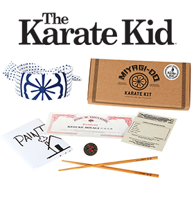 THE KARATE KID MIYAGI-DO KARATE KIT