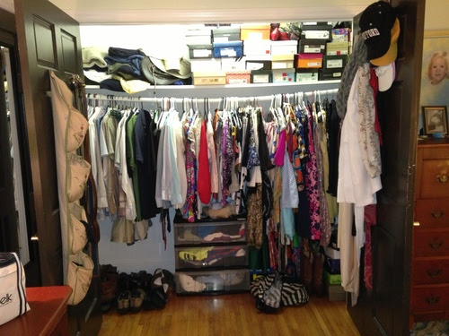 My Closet Before Simplicity Entered My Life