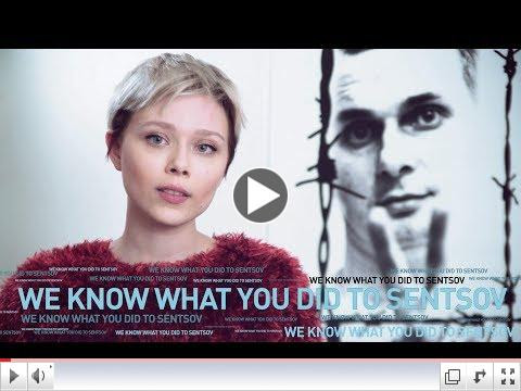 February 26 is the Worldwide Day of Action for Ukrainian filmmaker Oleg Sentsov, illegally imprisoned by Russia. The Worldwide Day of Action is organized by PEN America and international partners. For a video by Babylon 13, please click on image above #FreeSentsov
