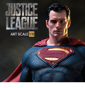 JUSTICE LEAGUE SUPERMAN 1/10 ART SCALE STATUE