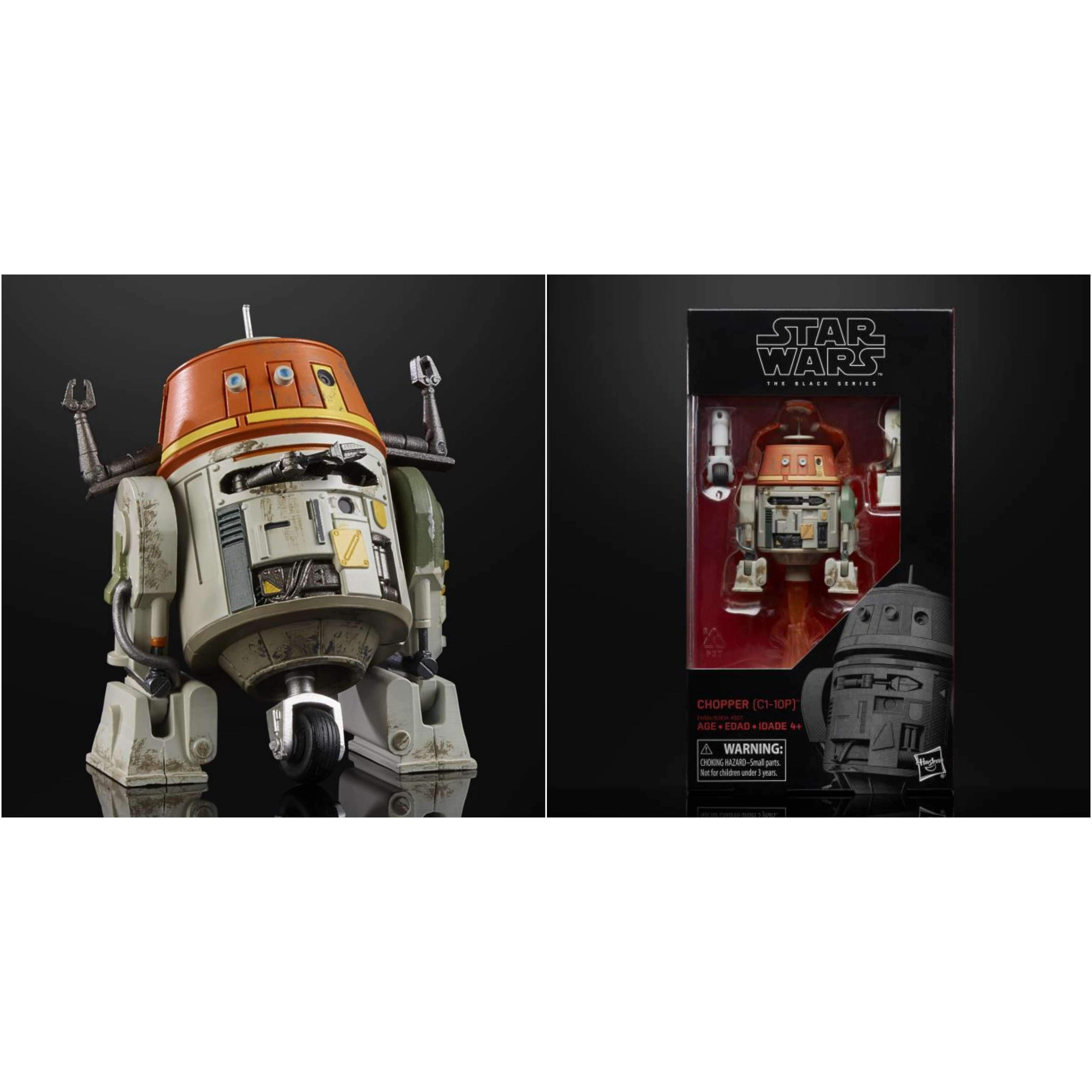 "Image of Star Wars: The Black Series 6"" Wave 21 - Chopper"