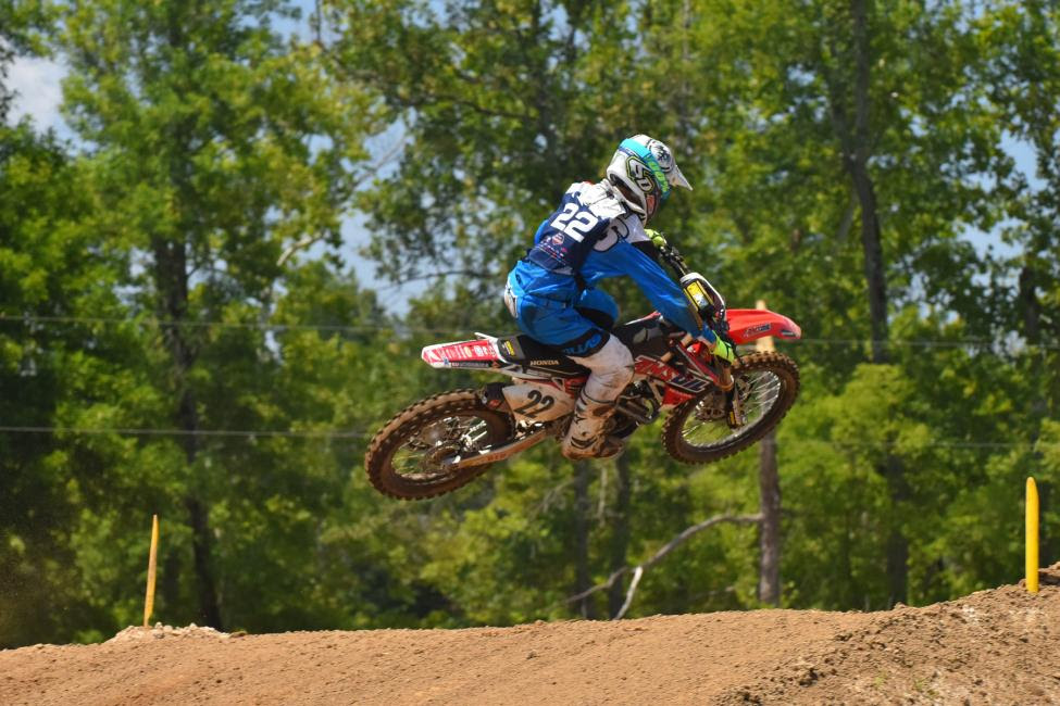 Chase Sexton will head into the final moto with a 1-1 moto tally in Open Pro Sport.Photo: Ken Hill