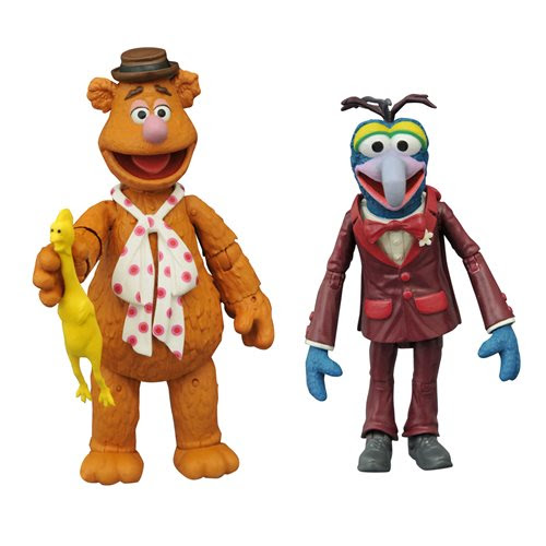 Image of Muppets Best Of Series 1 Gonzo and Fozzie Action Figure 2-Pack - JANUARY 2021