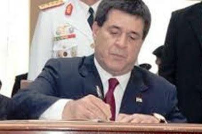 El gobierno de Horacio Cartes anuncia privatizaciones
