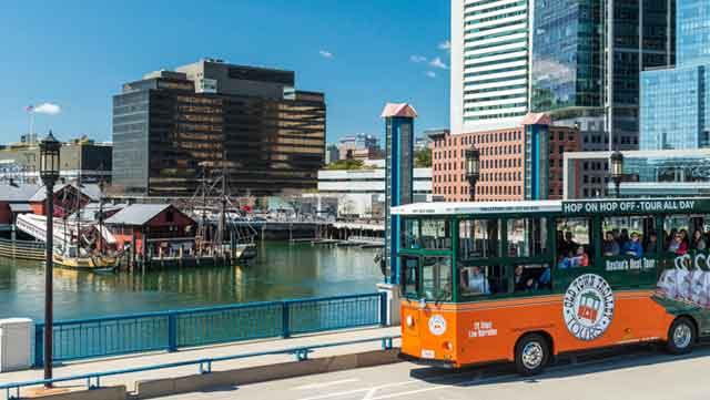 Trolley Tour in Boston