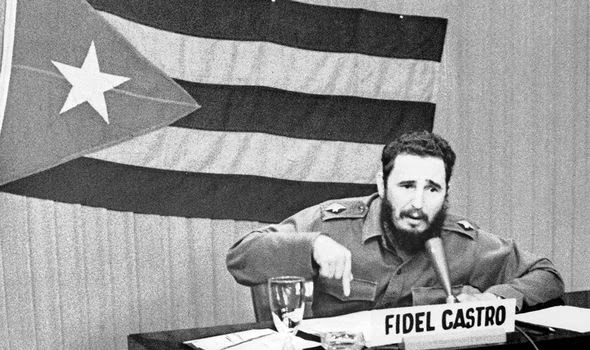 Fidel Castro was central to the tensions in Cuba