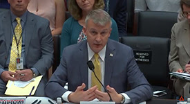 Dr. Bright testifies before the House Energy and Commerce Committee
