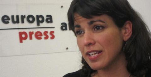 Teresa Rodríguez, candidata de Podemos a la Junta de Andalucía. /EUROPAPRESS