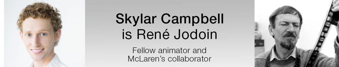 Rene Jodoin, Fellow animator and McLaren's collaborator