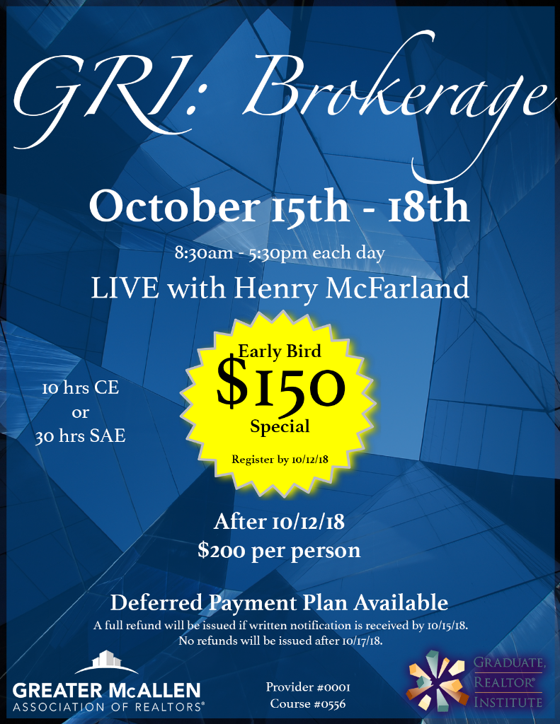 GRI Brokerage - Flyer