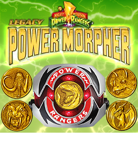 POWER RANGERS LEGACY EDITION POWER MORPHER
